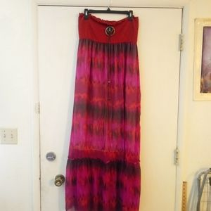 Good to be spoiled sundress sz L boho dress